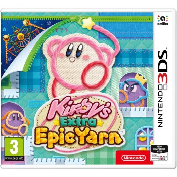 Kirby's Extra Epic Yarn (Nintendo 3DS)
