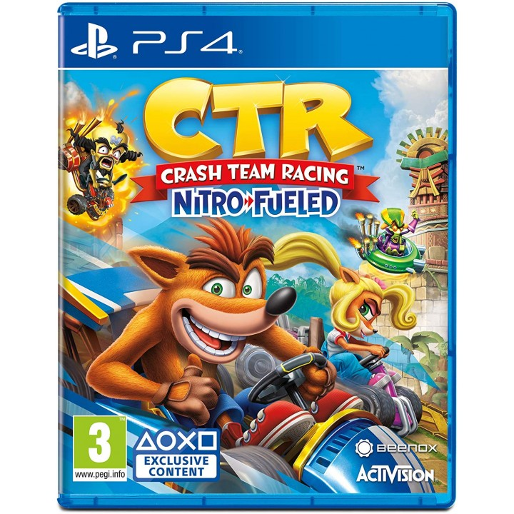 Игра для PlayStation 4 Crash Team Racing Nitro Fueled